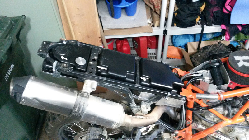 Underseat Fuel Tank