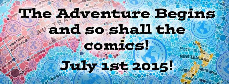 South Pacific Adventure 2015 Comics