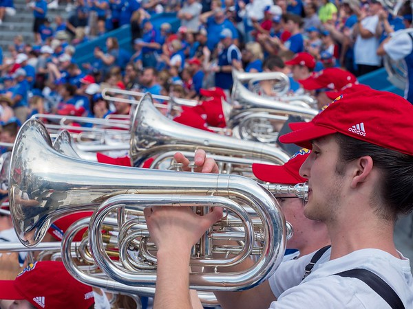 Marching Jayhawks