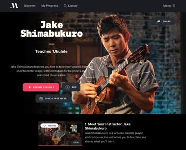 Ukulele - Jake Shimabukuro