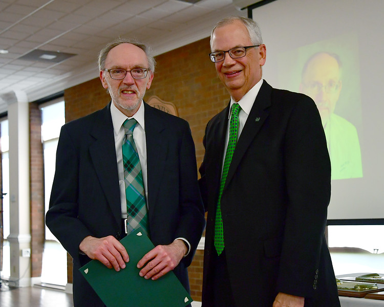 Dr. Henry Driscoll and Dr. Jerry Gilbert