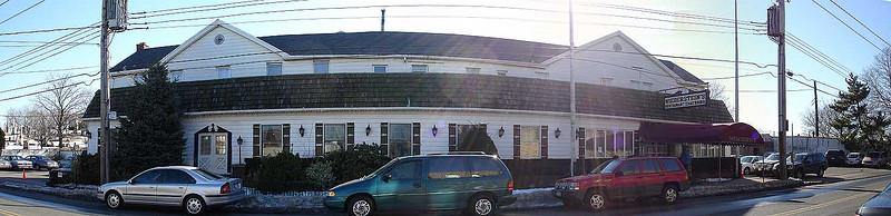 Niederstein's Restaurant, originated in 1845, shut its doors the day after this photo was taken (Feb. 5, 2005).