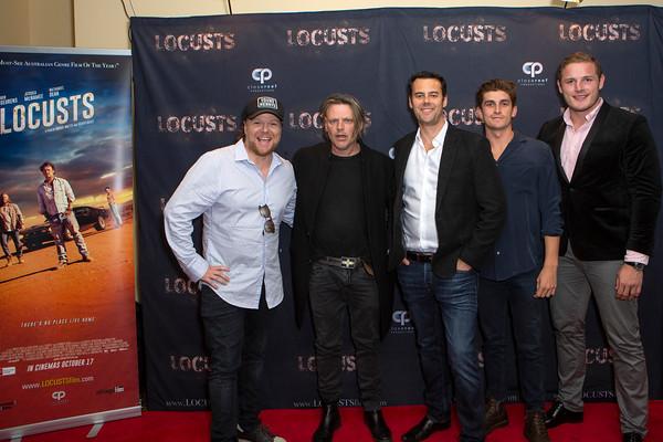 LOCUSTS AUSTRALIAN PREMEIRE RED CARPET EVENT