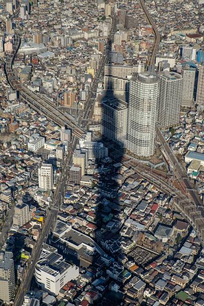 Tokyo Skytree shadow