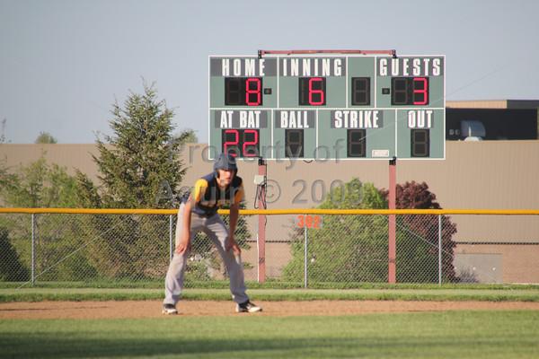 varsity baseball regional semi-final v. orangeville . 5.21.14