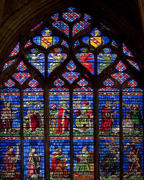 Troyes Saint Peter and Saint Paul Cathedral, The Saint Peter Window