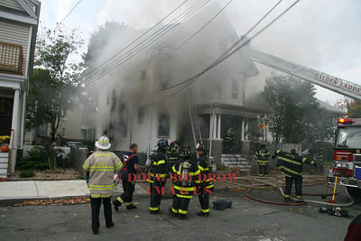 Malden, MA - 3rd Alarm, 9 Arlington Street, 11-1-07