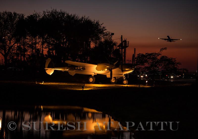 P-38 Lightning replica