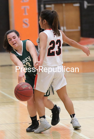 Girls Basketball — Plattsburgh High vs. Chazy