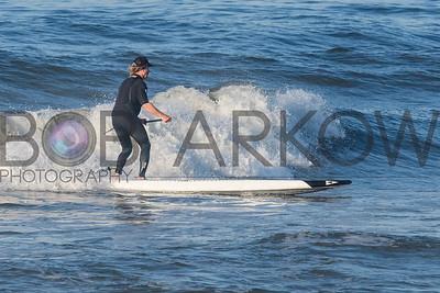 Surfing Long Beach 6-11-17