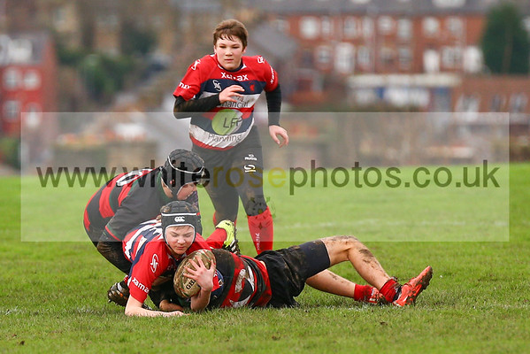 Under 14's v Dronfield under 14's