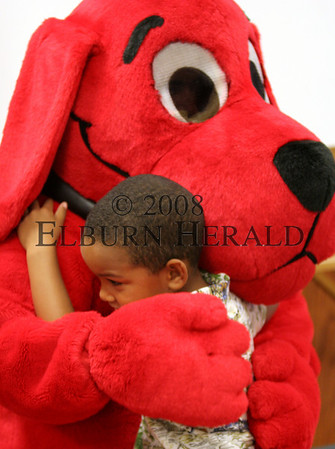 Clifford the Big Red Dog at T&C Library