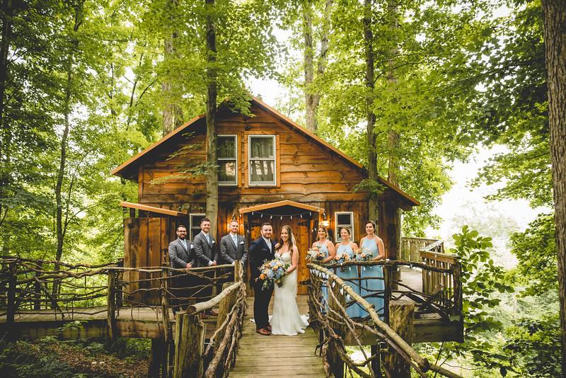 Mr. & Mrs. Dehn l A Mohicans Grand Barn Wedding