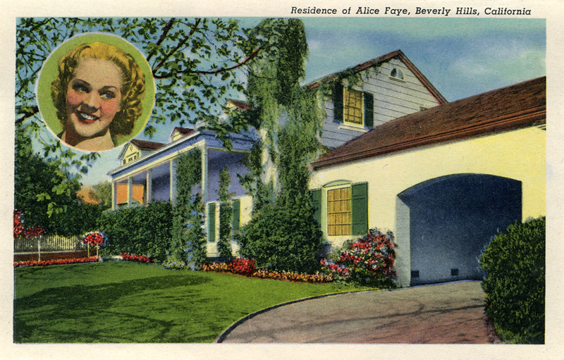 Residence of Alice Faye