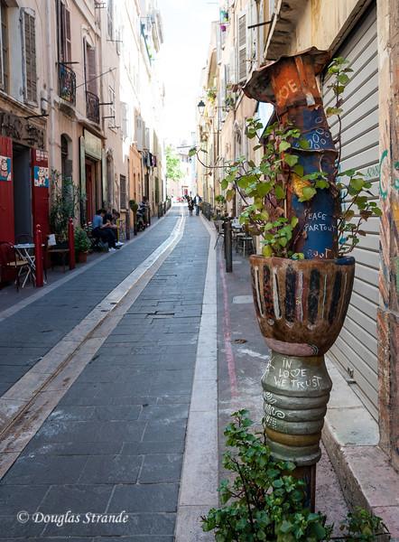 Marseille, France: Street art