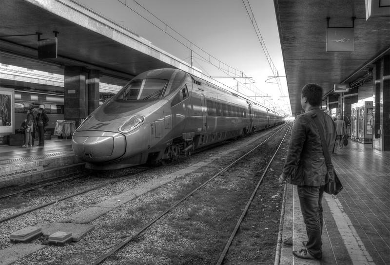 Stazione Termini - Rome, Italy - November 6, 2010