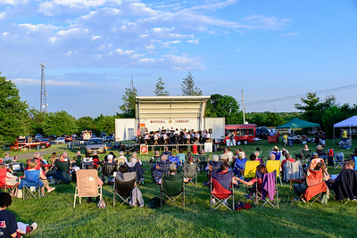 06/10/17 Band and Fireworks