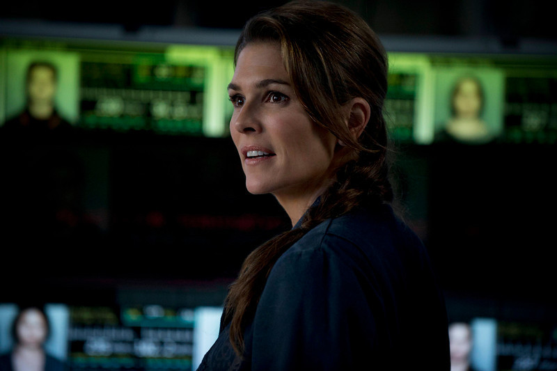 . The 100 -- Pictured: Paige Turco as Abby (Photo by Cate Cameron/The CW)
