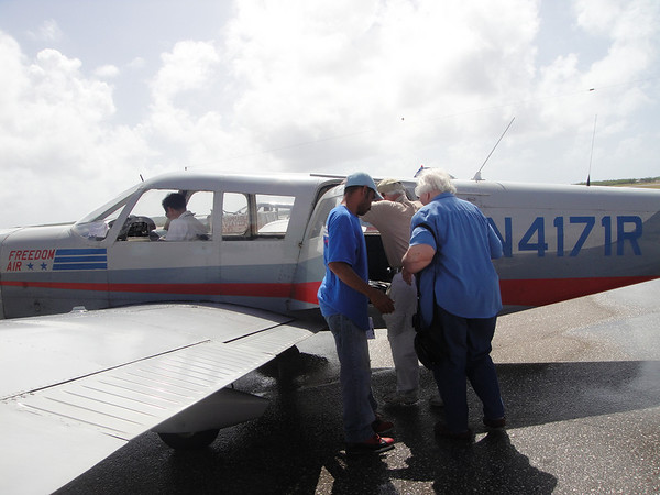 Robertsons Flying to Tinian