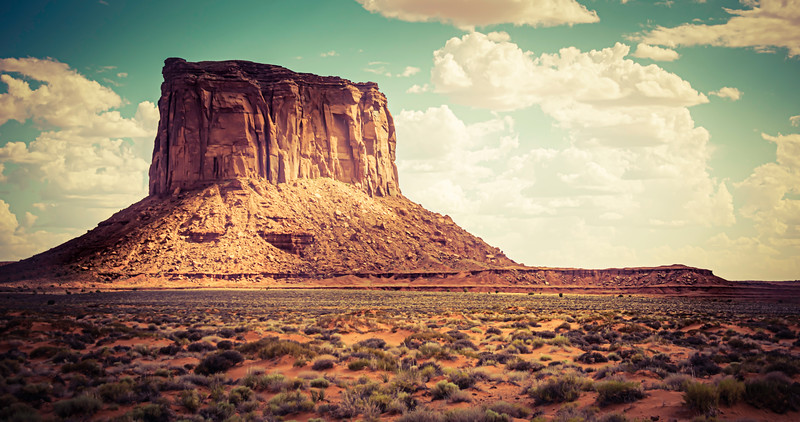 Monument Valley Butte colorized.jpg