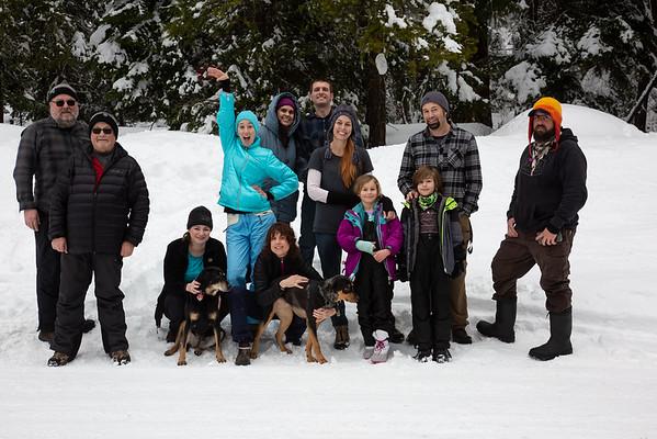 2020 Hikes, Snowshoeing & Camping