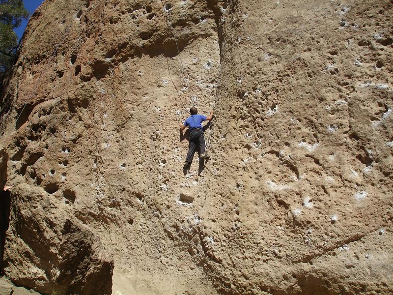 Random rock climber