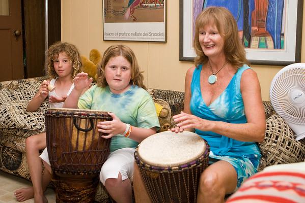 Drumming - July 2008