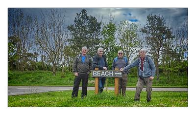 132 - Druridge Bay To Creswell Walk, Northumberland, UK - 2021.