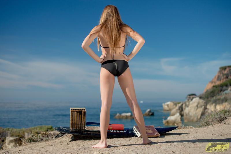 Tall Pretty Model! Nikon D800E Photos Pretty Blond Swimsuit Bikini Model @ 45SURF! Gorgeous Blue Eyes!