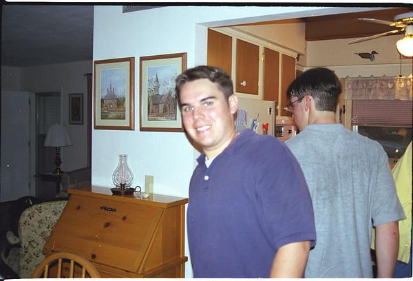 1997 06 - Dave's Graduation Party