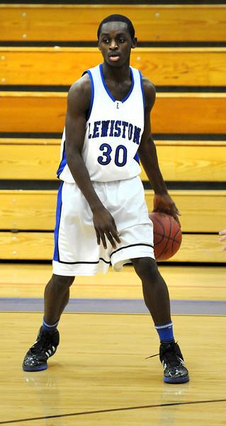 Lewiston vs Brunswick freshman basketball game at Lewiston High School on Friday night 12/30/11