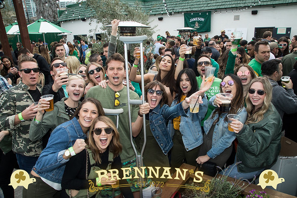 03.17.18 St. Patrick's Day at Brennan's