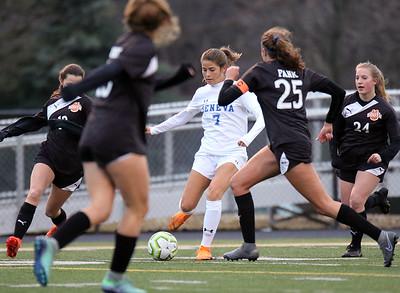Geneva girls soccer vs. Wheaton Warrenville