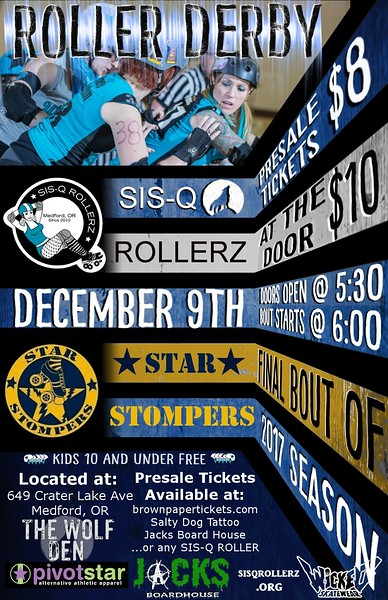 SISQ-VS-Star Stompers 12-09-17