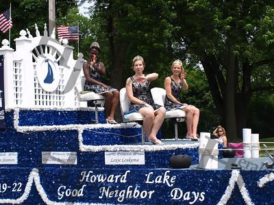 Howard Lake Good Neighbor Days 2014 parade