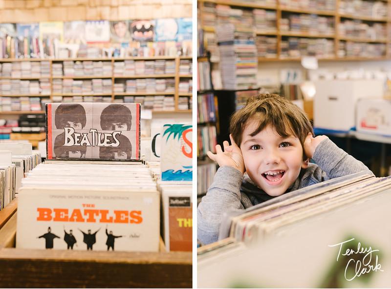 Record store Monterey.