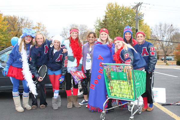 Tennis in Homecoming Parade