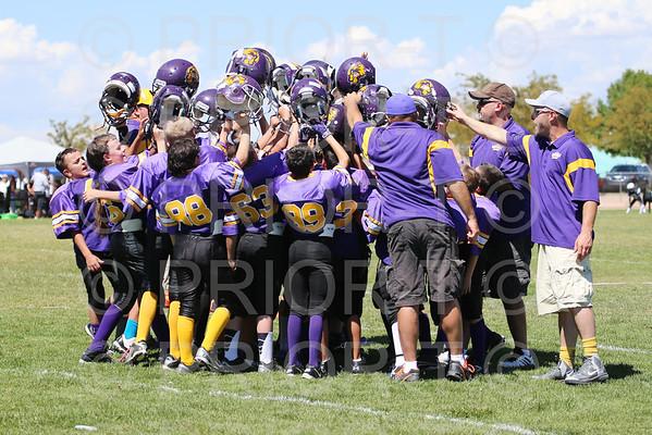 September 6, 2014 5th  Grade YAFL Bayfield Wolverines  vs Farmington Scorpions