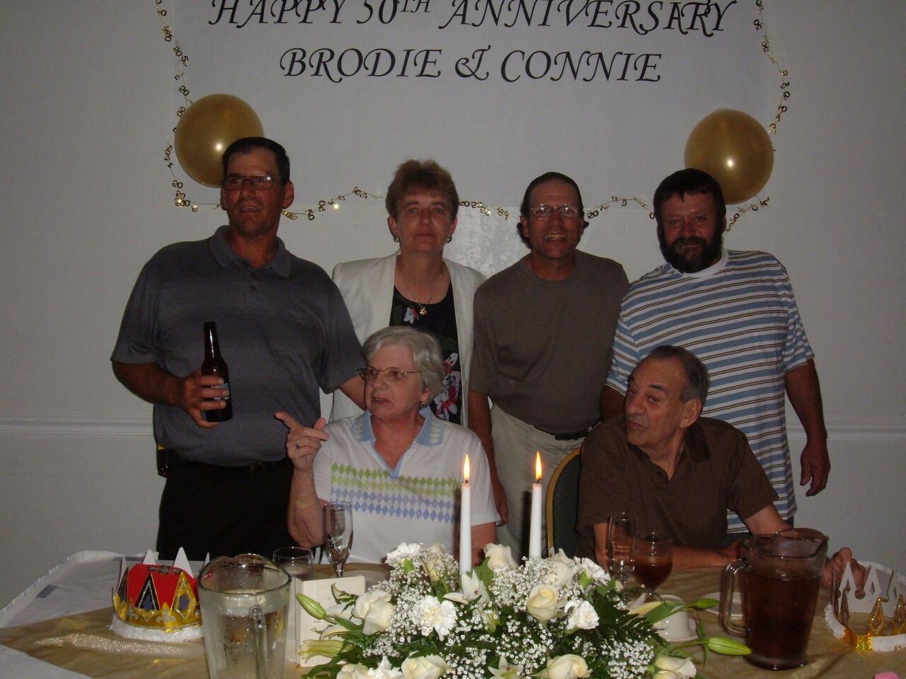 Finamore Family<br /> Standing:  Larry, Debbie, Bink, Eddie<br /> Sitting: Connie and Brodie