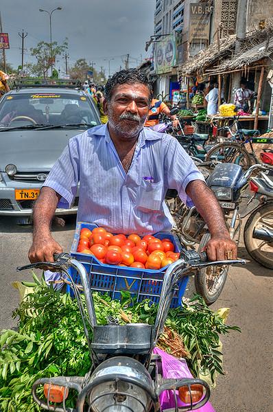 Mobile  Veg Seller