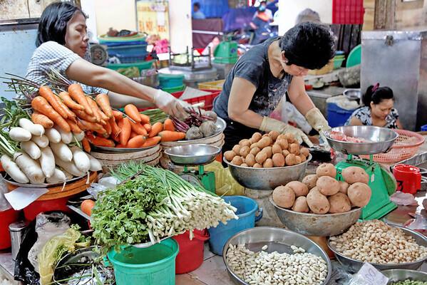 La marché d'HCMC