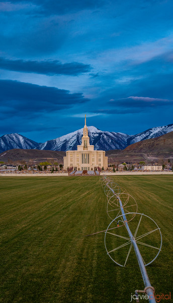 Payson Temple - The farmers temple