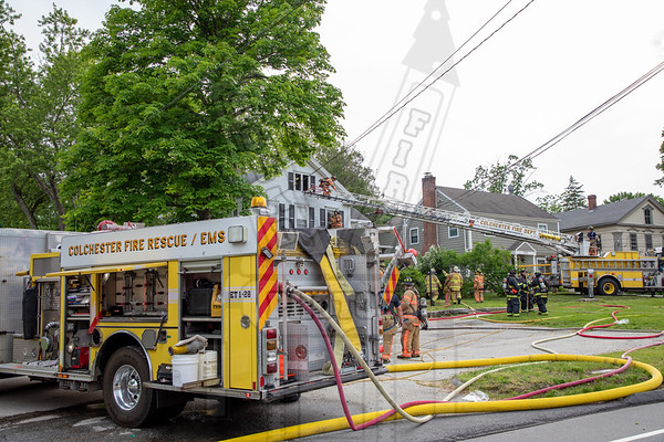 Colchester, Ct 2nd alarm 6/5/19
