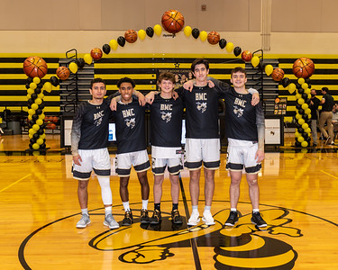 20210113 Boys Basketball Senior Night