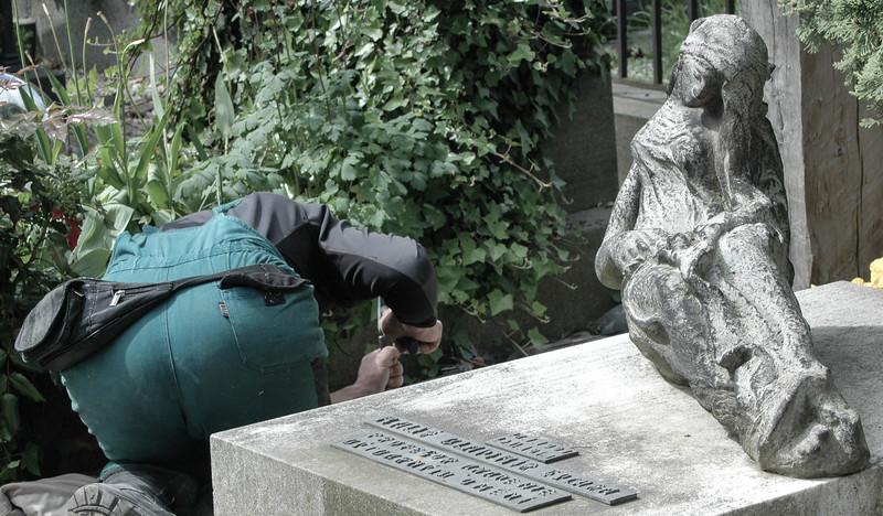 Prague: Vysehrad Cemetery