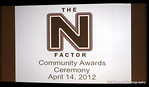 N Factor Awards in Natomas 04 14 12 :