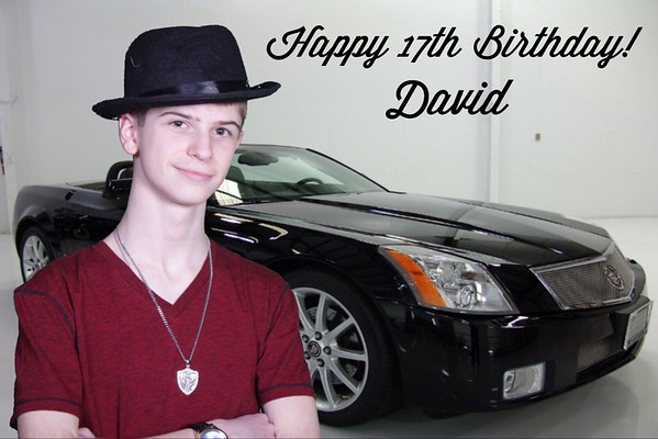 David's 17th Birthday