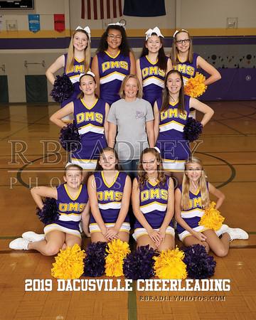 2019 Dacusville Middle Cheerleading