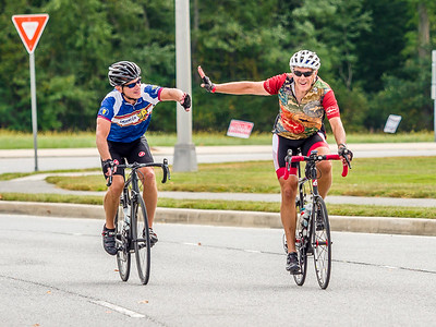 2016 MS Bike to Bay Finish Line