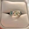 2.10ct Art Deco Peruzzi Cut Diamond Ring, GIA W-X SI2 19